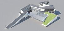 SU草图大师建筑模型
