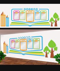 创意卡通班级文化墙设计