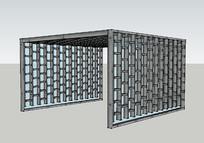钢架结构廊架