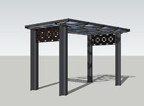 钢架廊架设计
