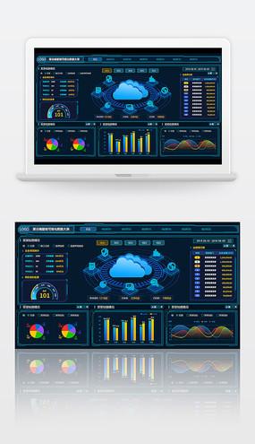 云端智能可视化数据大屏
