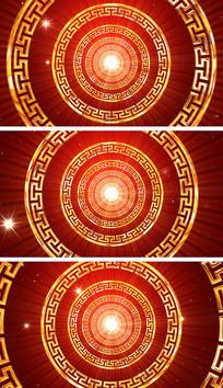 春节联欢晚会开场舞绚丽背景视频素材