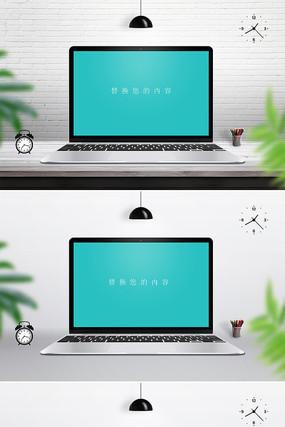 笔记本样机模板