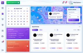大数据可视化界面UI设计