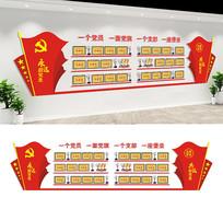 基层党员活动室精品荣誉墙设计