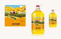 大豆油食用油创意包装