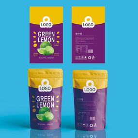 清柠檬食品包装