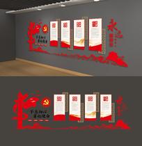 党员权利义务党员之家党建活动室雕刻展板