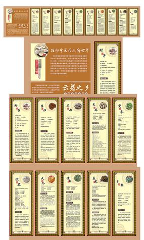 云南中药材展板设计