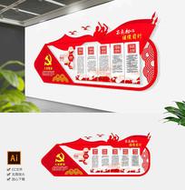 基层党建十九大党员职责义务村委会文化墙