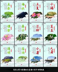 整套中国传统24节气海报之春夏季
