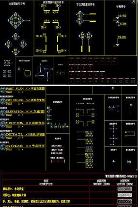 制图规范CAD图纸