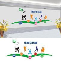 体育宣传文化墙设计