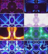金达莱花DJ舞曲LED舞台背景视频