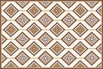 复古波斯抽象欧式地毯图案设计