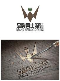 服装品牌男士logo