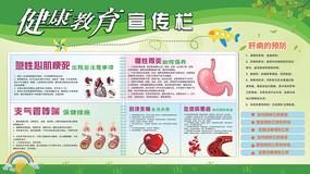 社区健康教育宣传栏