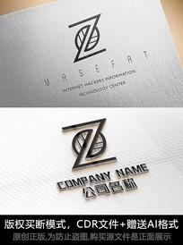 创意Z字母logo设计