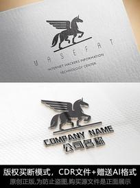 创意马logo标志马商标