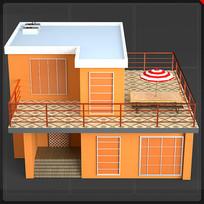 两层独栋别墅房子