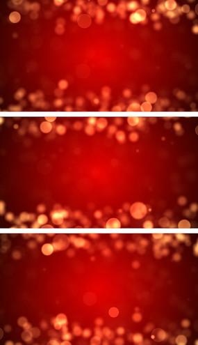 圣诞元旦节日气氛粒子绚丽背景视频素材
