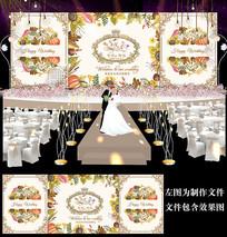 丰收主题婚礼设计