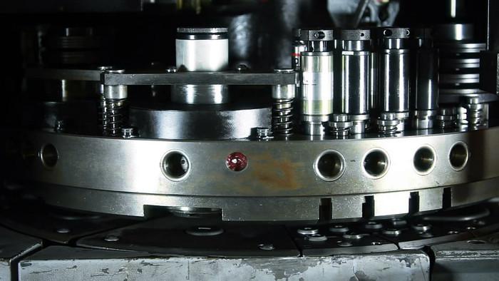 工业制造金属机械加工视频素材
