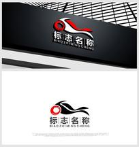 摩托元素logo设计