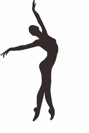 芭蕾舞者艺术元素矢量图CDR