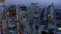 大都市现代建筑景观视频素材