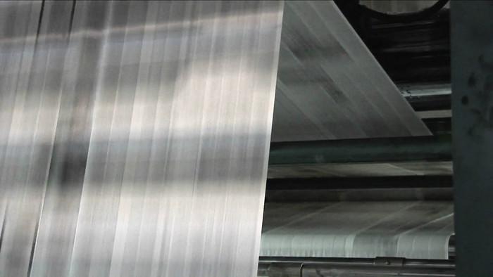 工业印刷机印刷视频素材