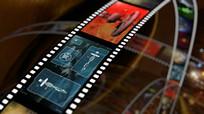科技电影胶片剪辑视频素材