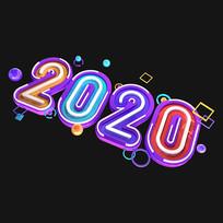 七彩2020字体