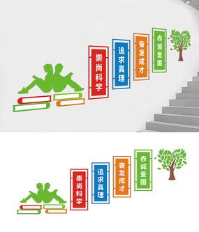学校楼道宣传标语文化墙