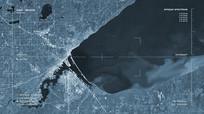 地图科技卫星定位视频素材