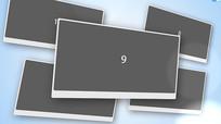 简单明亮企业商业图片展示AE模版