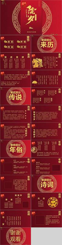 中国风除夕春节PPT模板
