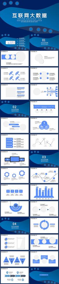 互联网电子科技PPT模板