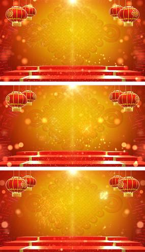 鼠年元旦春节联欢晚会视频素材