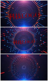 科技logo片头AE视频模板
