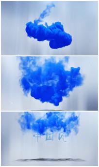 震撼烟雾出logo模板AE视频模板