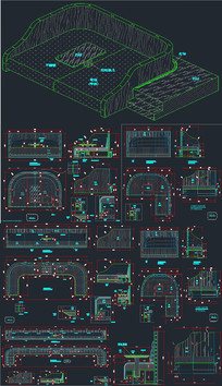工程沙发设计CAD