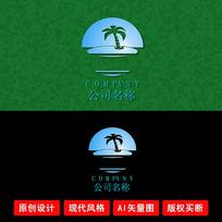 海洋旅游LOGO设计
