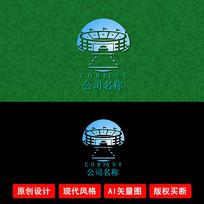 集团科技龙宫创意LOGO设计