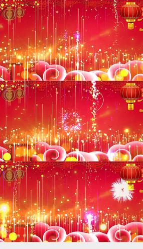 2020鼠年春节LED视频素材