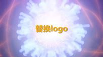 光效烟雾LOGO片头标志演绎pr视频模板