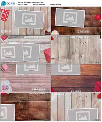 pr唯美优雅婚礼记忆相册展示视频模板