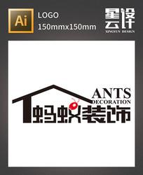 蚂蚁装饰LOGO