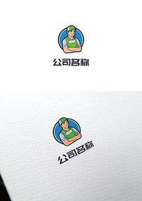 餐饮服务业标志logo设计