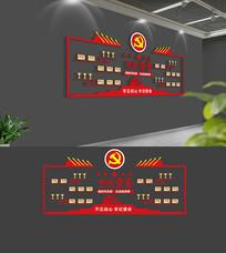 大气党建荣誉文化墙
